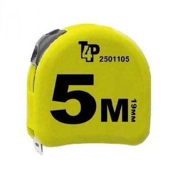 T4P (2501105) Рулетка Прорезиненный Корпус 5 М Х 19 Мм