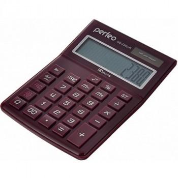 Perfeo GS-2380-R, бухгалтерский, 12-разр., красный