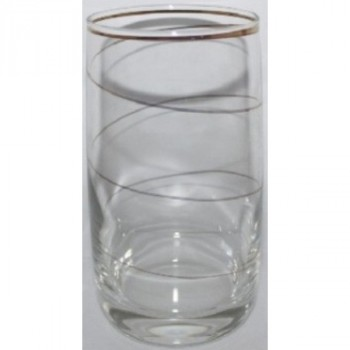 Гусь Хрустальный D29-809 Эдем наб. стаканов 6шт. с рисунком Змейка для воды 330мл
