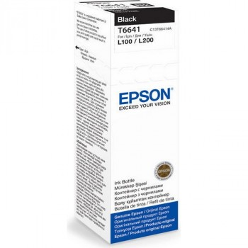 Epson C13T66414A черный
