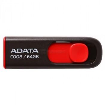 A-Data 64Gb C008 черно-красный