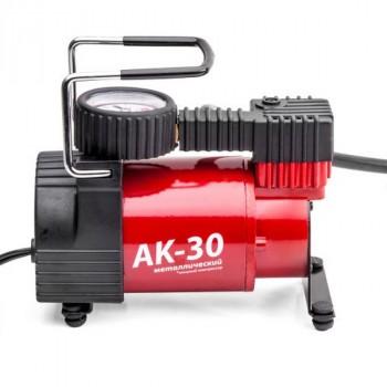 Autoprofi (AK-30) Компрессор авт. АК, металлический, 12V, 120W, производ-сть 30 л./мин., сумка Автокомпрессор