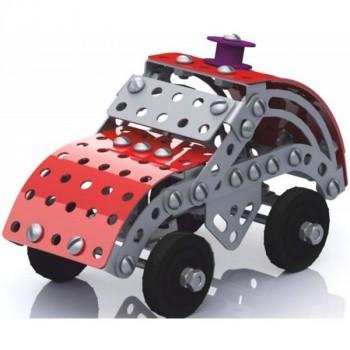 10 Королевство (2029) Машинка, Конструктор Металлический с Подвижными Деталями