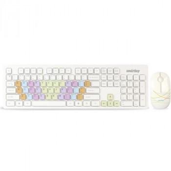SmartBuy SBC-218346AG-W с цветными клавишами белый