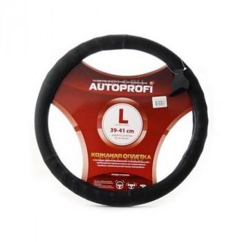 Autoprofi (SP-9020 BK (L)) Оплётка руля, алькантара,черный