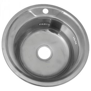Fabia 510 Мойка врезная круглая Эконом 51 см