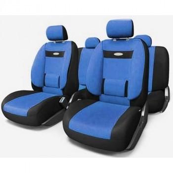 Autoprofi Comfort COM-1105 ортопедическая поддержка, черный, синий