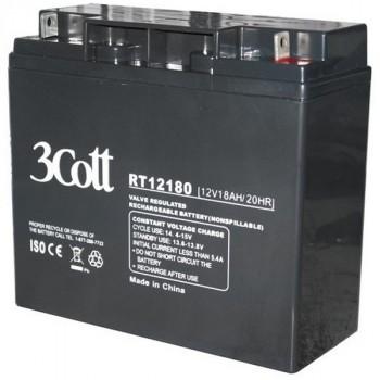 3Cott 12V18AH аккумулятор